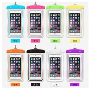 Makes your phone or electronic device water resistant .