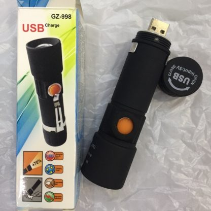Zoomable Mini LED Torch