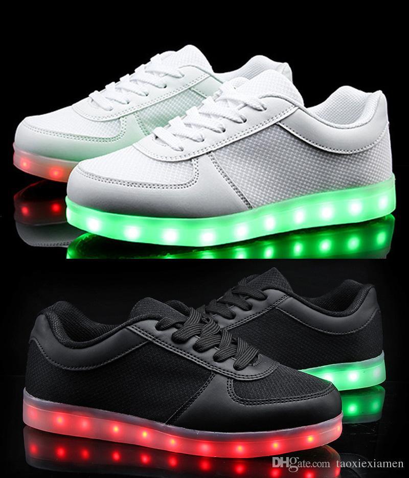 Led Sports Shoes Kids Size 7 2 The Led Light Up Store
